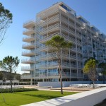 The Beach Houses by Richard Meier, Jesolo Beach