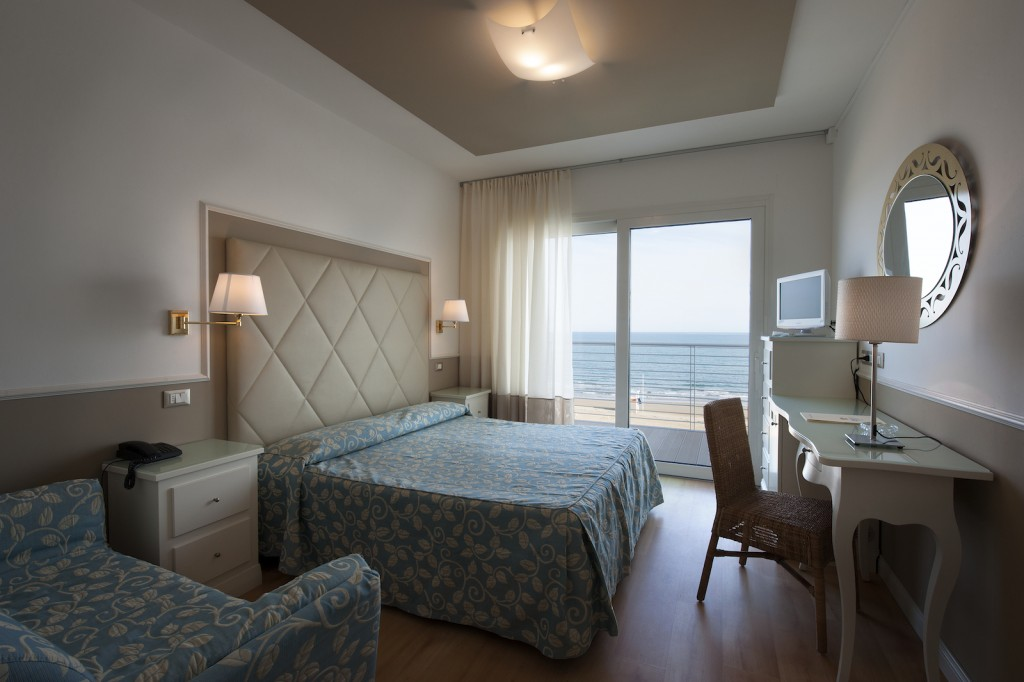 Room with Sea View - Hotel Le Soleil, Jesolo