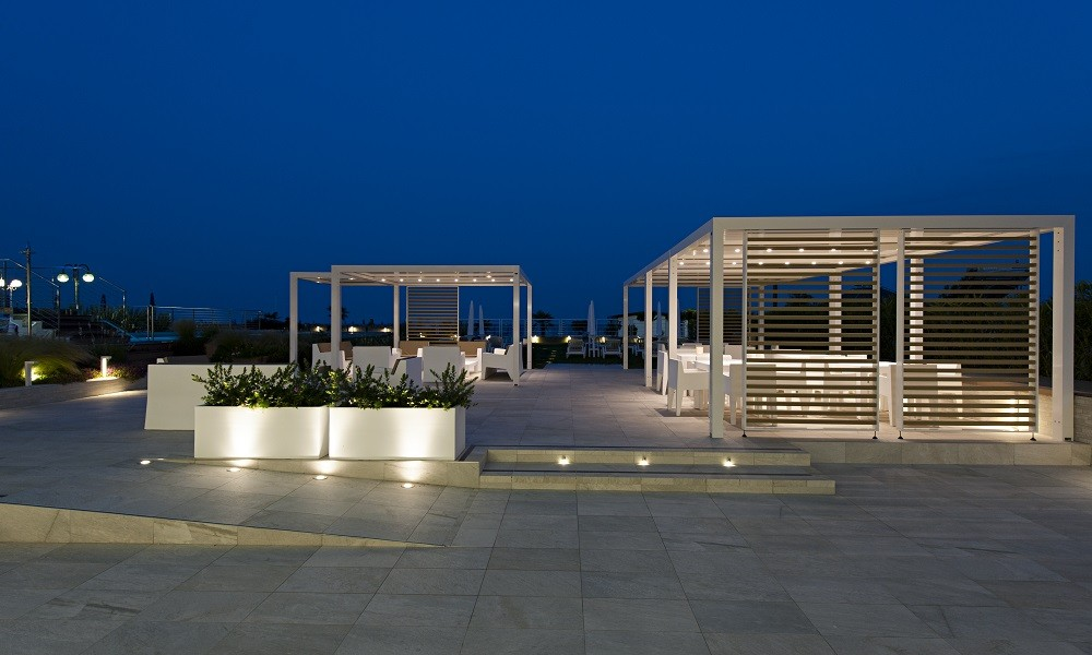 By Night - Hotel Le Soleil, Jesolo